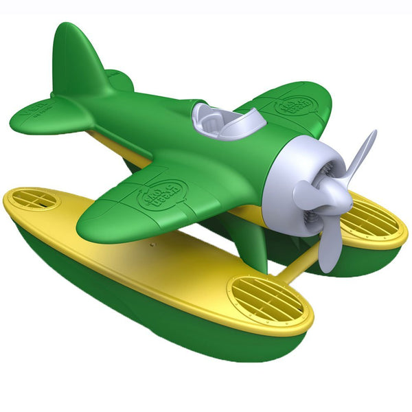 Seaplane Toy Made in USA from 100% Recycled Plastic, No BPA, Phthalates, PVC, or External Coatings - Eco Trade Company