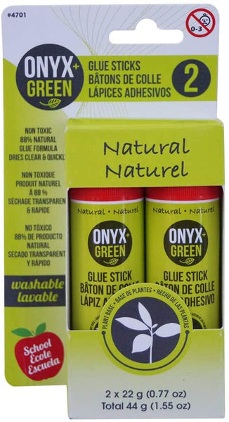 Onyx and Green 4701 Glue Sticks, Non-Toxic - Eco Trade Company