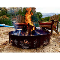 Natural Hardwood Mix Fire Log Firewood Bundle for Fireplaces, Campfires, Firepits - Eco Trade Company
