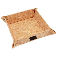 Valet Tray for Men, Natural Cork  Coin Box Change Caddy Bedside Storage Box Eco-Friendly - Eco Trade Company