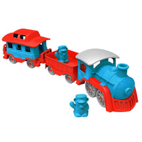 Green Toys Train Made from 100% Recycled Plastic, No BPA, phthalates, PVC, or External Coatings - Eco Trade Company