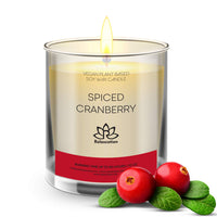 Big Candle in Luxury Matte White Glass Jar Soy Wax Eco-Friendly Clean Burn up to 80 hours - COZY CHRISTMAS Holiday Scent - Made in USA 10 oz - Eco Trade Company