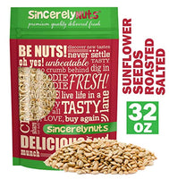 Sincerely Nuts Sunflower Seeds Roasted and Salted (No Shell) - Eco Trade Company