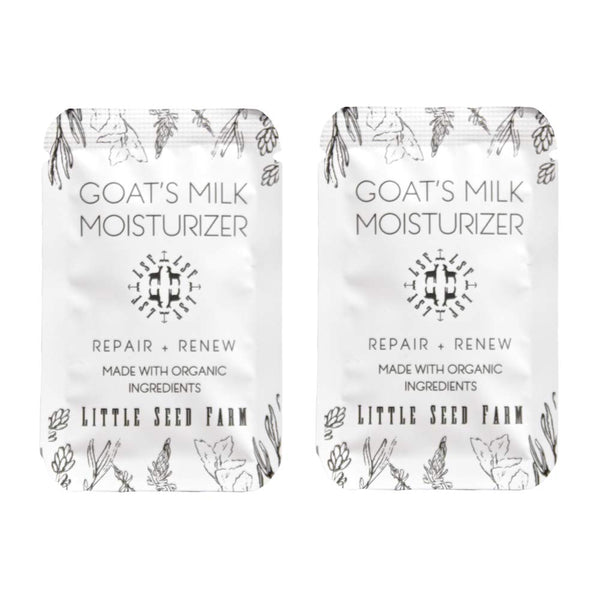 Little Seed Farm Goat's Milk Moisturizer - All Natural, Organic Facial Moisturizer - Eco Trade Company
