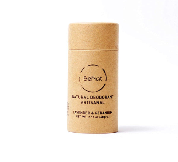 Natural Deodorant. ZERO-WASTE. Free of Aluminum, toxins and all harmful chemicals. Cruelty-free and EARTH-FRIENDLY