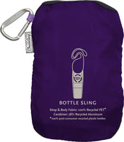 ChicoBag Bottle Sling rePETe Recycled Water Bottle Carrier Bag with Pouch - Eco Trade Company