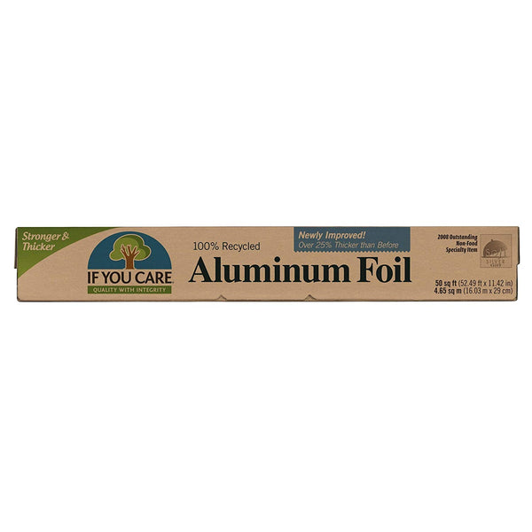100% Recycled Aluminum Foil Roll, 50 Sq. Ft. Roll - Eco Trade Company