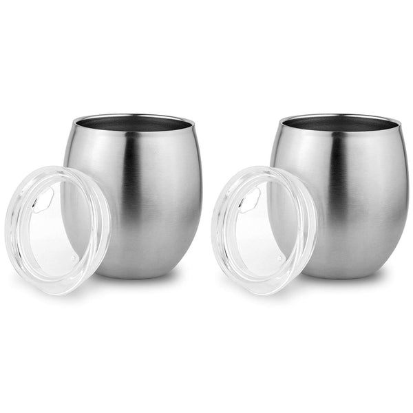 Stainless Steel Small Tumbler with Lid - Eco Trade Company