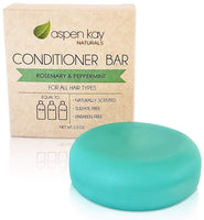 Solid Conditioner Bar, Made With Natural & Organic Ingredients, All Hair Types, Sulfate-Free, Cruelty-Free & Vegan 2.3 Ounce Bar - Eco Trade Company