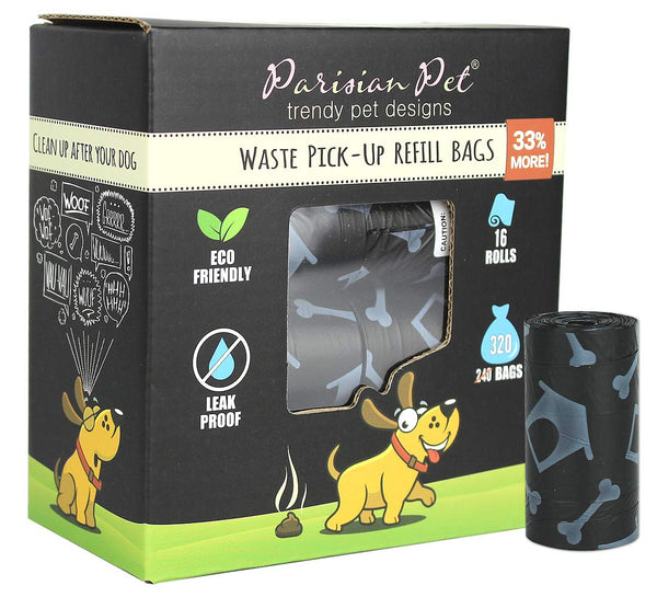 Pet Dog Poop Bags for Dogs – Refill Rolls – Unscented Eco-Friendly - Eco Trade Company