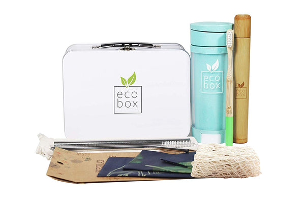 EcoBox - ZERO WASTE STARTER KIT. Eco Friendly Gift using Zero Waste Products - Eco Trade Company