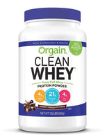 Orgain Grass Fed Clean Whey Protein Powder - Eco Trade Company