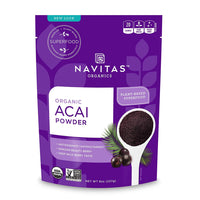 Acai Powder, Organic, Non-GMO, Freeze-Dried, Gluten-Free - Eco Trade Company