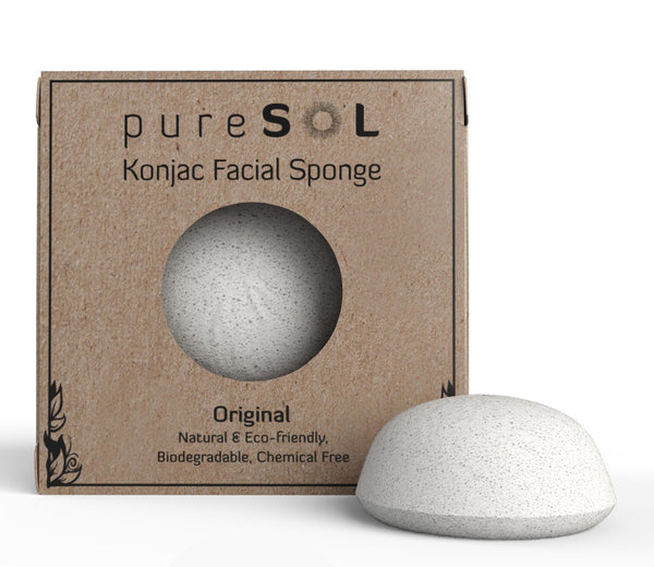 Facial Sponge, 100% Natural Sponge, Eco-friendly - Eco Trade Company