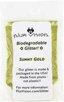 Biodegradable Glitter 1/4 Ounce - Made from Plant Cellulose, Earth Friendly, Perfect for Body, Cosmetics, Crafts, DIY, Face Paint Made in USA - Eco Trade Company