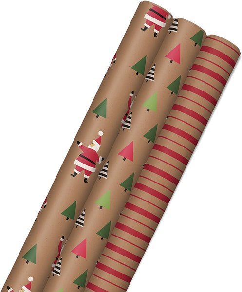 Sustainable Christmas Wrap Made in USA - Eco Trade Company