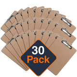 Clipboards, ECO Friendly Hardboard Clipboard Pack - Eco Trade Company