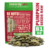 Sincerely Nuts - Raw Shelled Pepitas Pumpkin Seeds (Unsalted) - Eco Trade Company