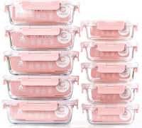 Airtight Glass Food Storage Containers - Eco Trade Company