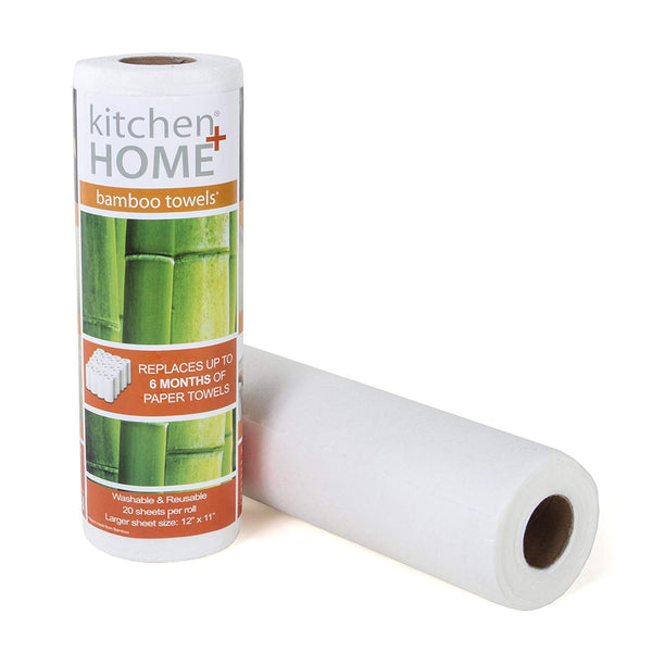 Bamboo Towels - Heavy Duty Eco Friendly Machine Washable Reusable Bamboo Towels - Eco Trade Company