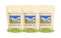 Green Split Peas Non-GMO Project Verified 100% Non-Irradiated Certified Kosher Parve USA Grown - Eco Trade Company