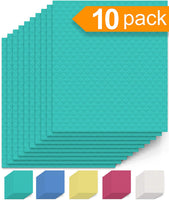 10 Pack of Eco-Friendly No Odor Reusable Cleaning Cloths for Kitchen - Eco Trade Company