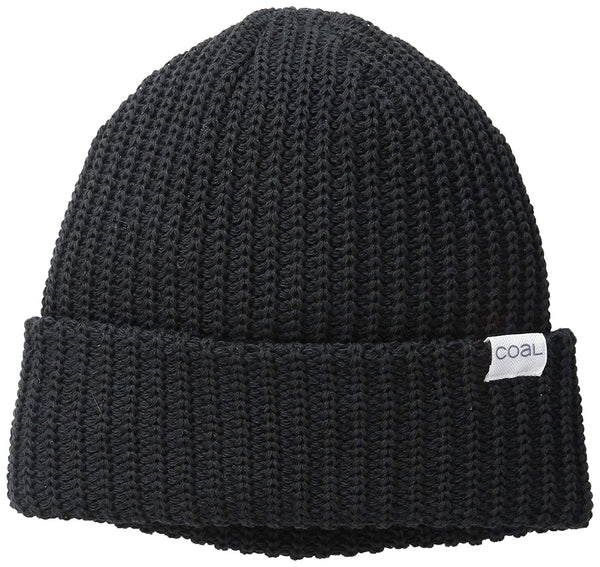 Coal Men's The Eddie Recycled Rib Knit Beanie Hat - Eco Trade Company