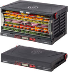 Folding Food Dehydrator, Beef Jerky, Fruit Leather, Vegetable Dryer (Stainless Steel Shelves) - Eco Trade Company