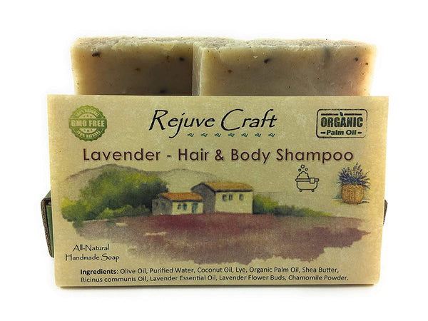 Rejuve Craft Hair and Body Shampoo 2 pack Tea Tree Mint - Eco Trade Company