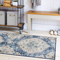 Machine Washable Rug - Stain Resistant, Non-Shed - Eco-Friendly, Non-Slip, Family & Pet Friendly - Made from Premium Recycled Fibers - Eco Trade Company