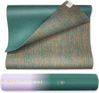 Eco-Friendly Non-Toxic Reversible Organic Yoga Mat - Eco Trade Company