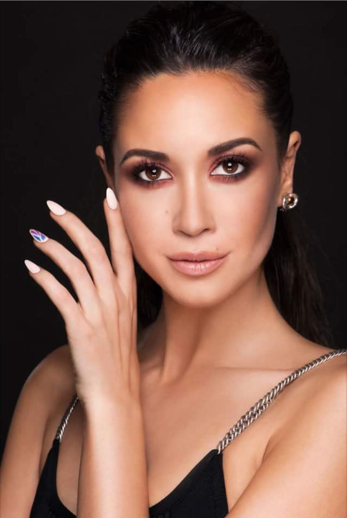 Inspired By the Beauty of Mandy Capristo
