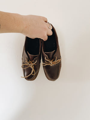 Vintage Dex Boat Shoes- Size 7.5