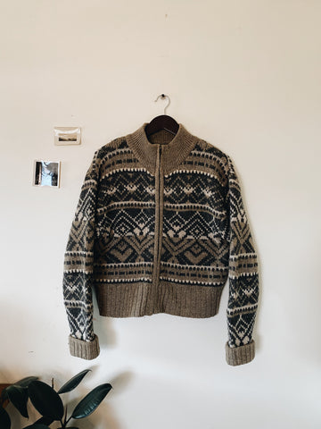 Vintage A&E Wool Sweater- Size L