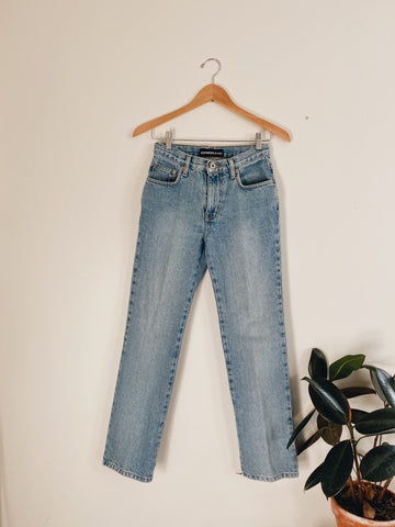 Vintage Light Washed Express Jeans