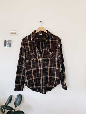 Vintage Wool Button Down- Size S/M