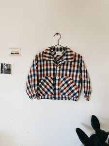 OshKosh Plaid Jacket- Size 3/4T