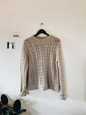 Vintage Wool Knit Sweater Size M/L
