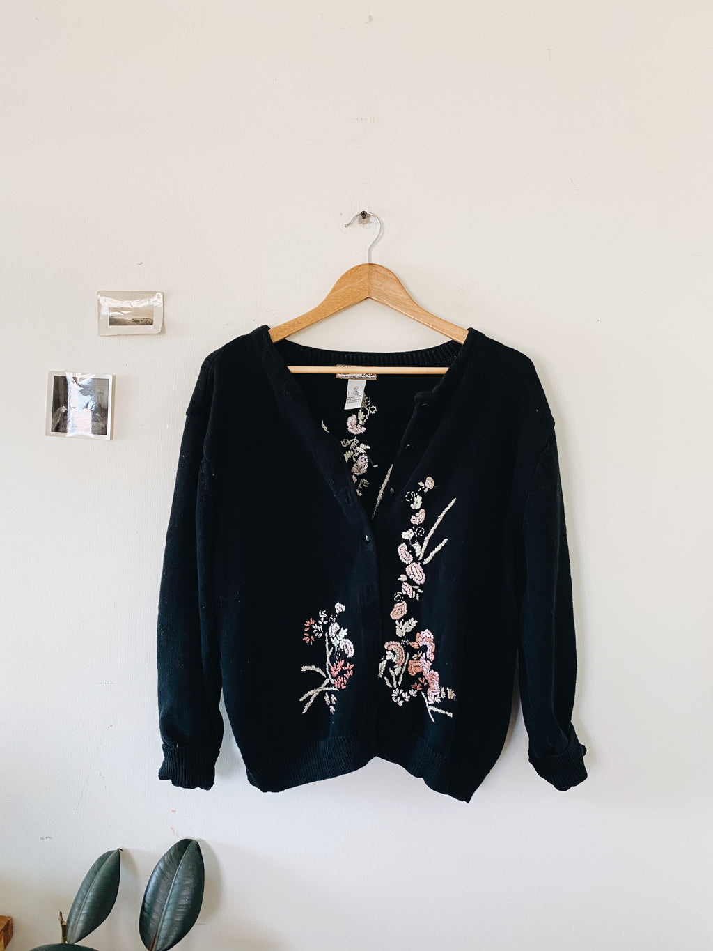 Embroidered Cardigan- Size L/XL
