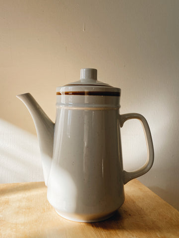 Stoneware Coffee or Tea Pot