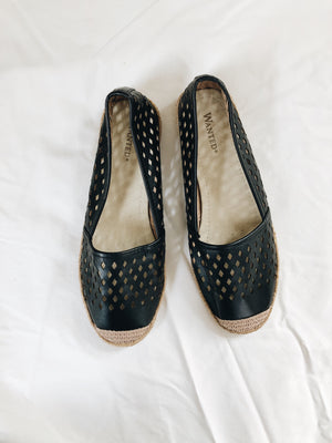 Women's Wanted Espadrilles- Size 8