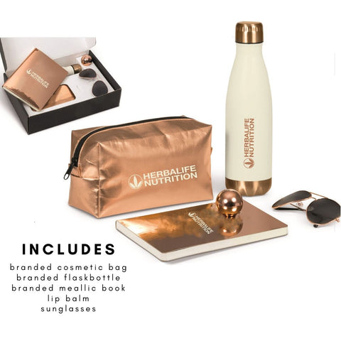 Rose Gold Glam Gift Set