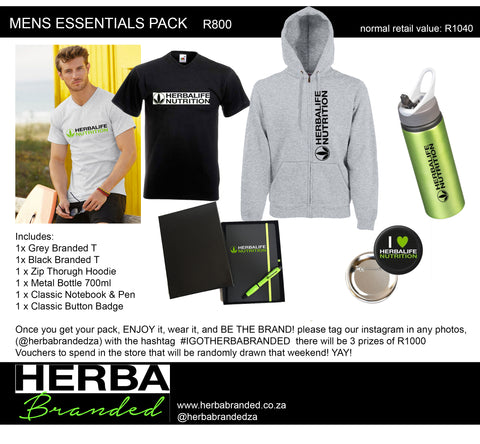 Mens Essentials Pack