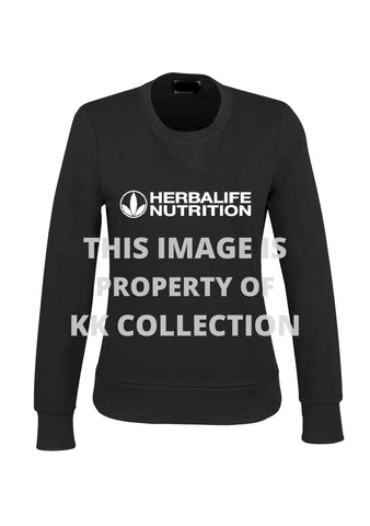 Classic Black and white branded pullover Sweat top