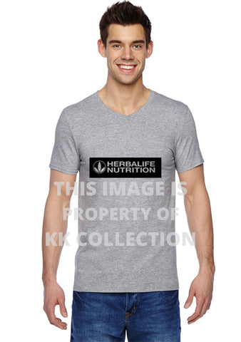 Mens Grey T with Black Branding