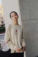 "限定DEERTRIP ""miss summer always"" print Long sleeve T-shirt"