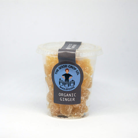 Organic Crystallised Ginger