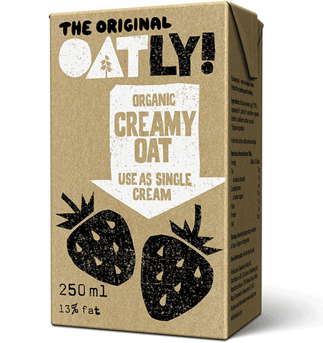 Organic Oatly Cream - Dairy alternative