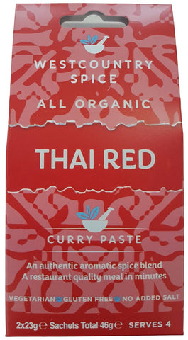 organic thai red curry paste
