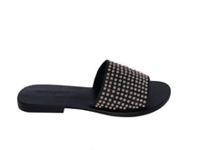 Load image into Gallery viewer, Sadie Slide - Black Studded